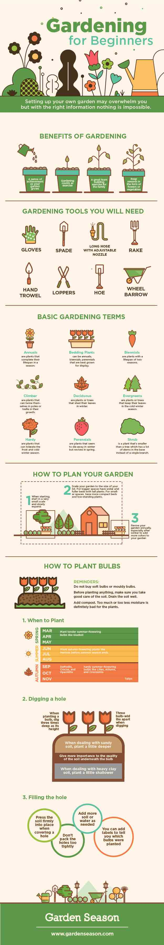 Gardening For Beginners Basic Tips You Need For Starting A Garden